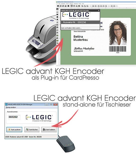 LEGIC advant KGH Encoder