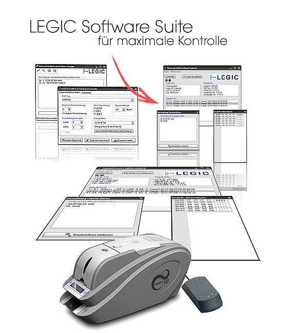 MAXICARD LEGIC Software Suite